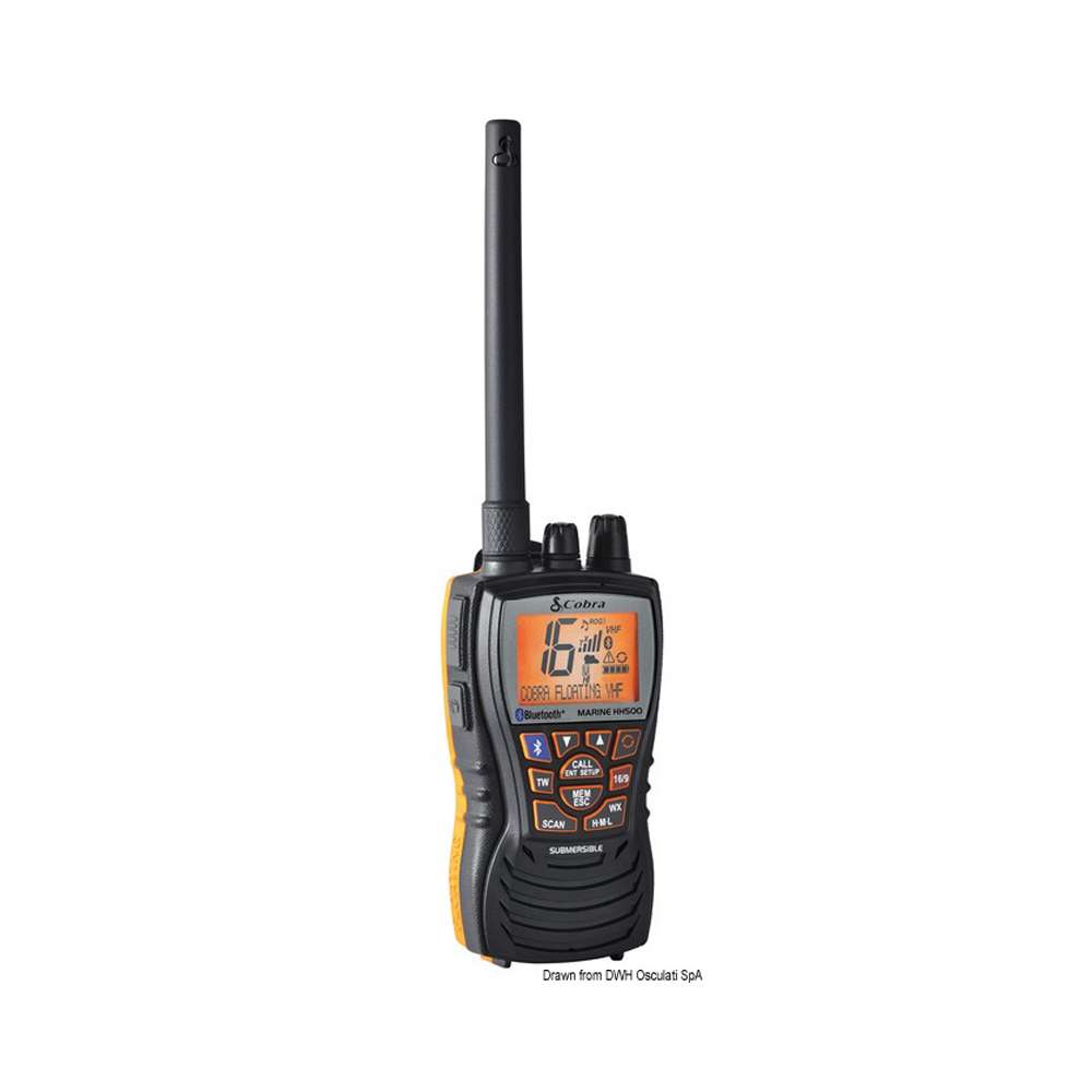 VHF galleggiante Cobra MR HH500 con bluetooth