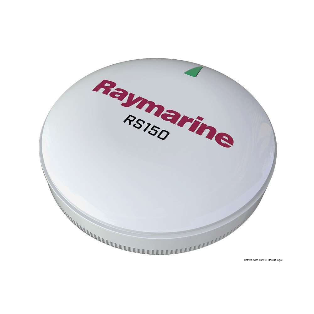 Antenna GPS Raymarine RS150 10Hz connessione STNG